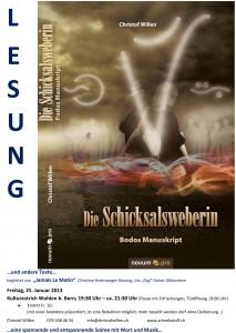 Lesung Kulturestrich Wohlen b. Bern
